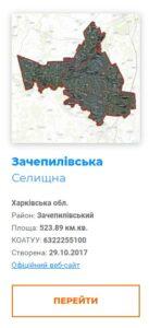 гео зачепилівська